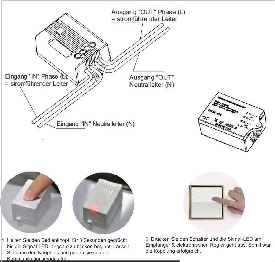 Stromlose Funkschalter von Codalux – Nachricht - Elektropraktiker